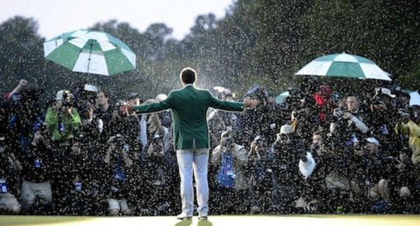 The Ultimate Green Jacket Expereince