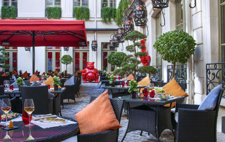 Buddha Bar Hotel, Paris, France