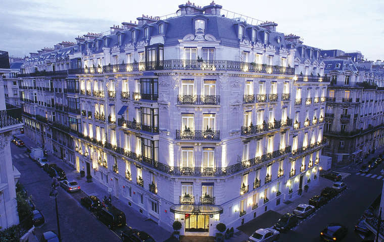 La Tremoille Hotel, Paris, France