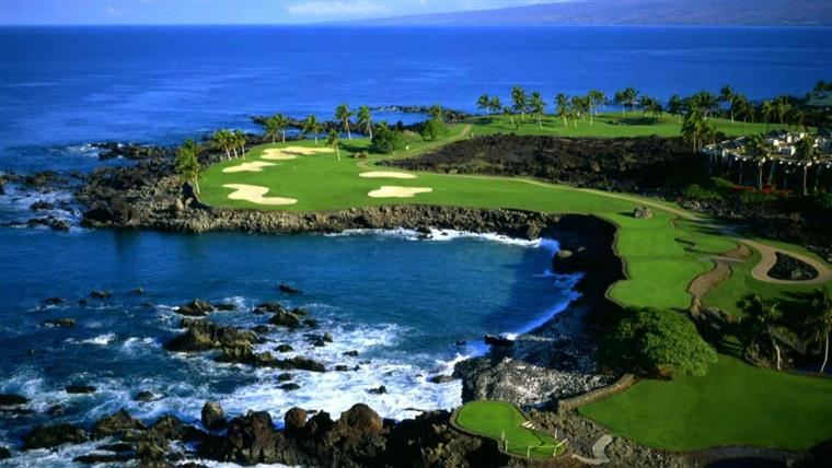 Hawaii USA Golf Tour - Palmer Golf Course Turtle Bay Resort
