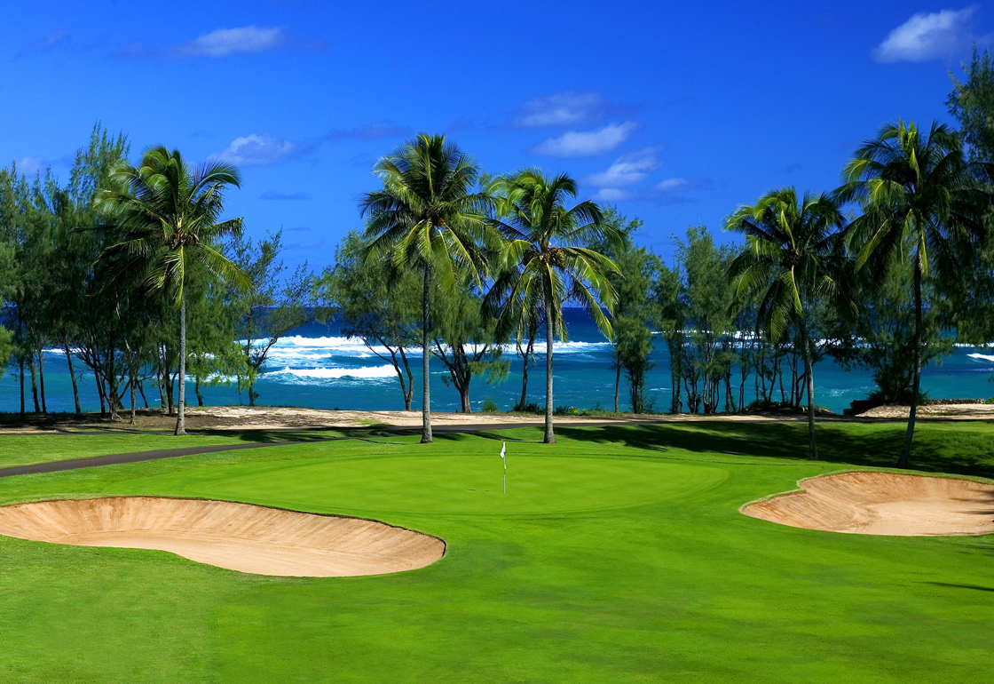 Hawaii USA Golf Tour - Fazio Golf Course Turtle Bay Resort